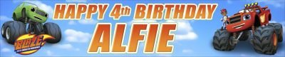 Banner Centre | Blaze Birthday Wall Banner