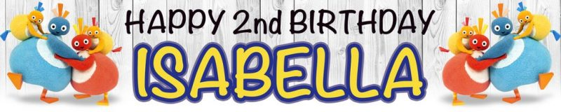 Banner Centre | Twirlywoos Birthday Wall Banner