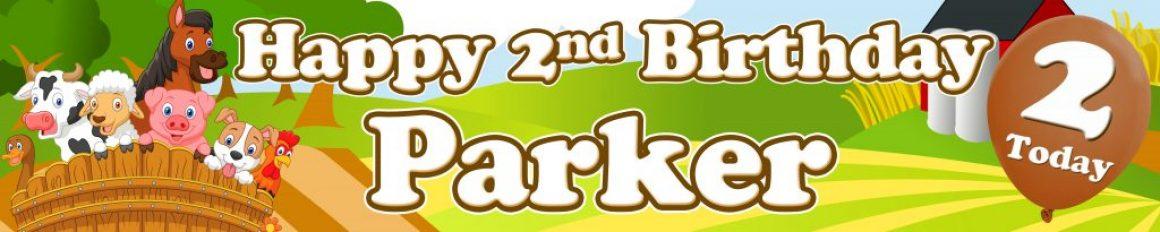 Banner Centre | Farmyard Animals Wall Banner