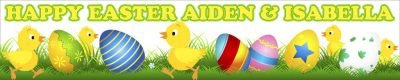 Easter Wall Banner
