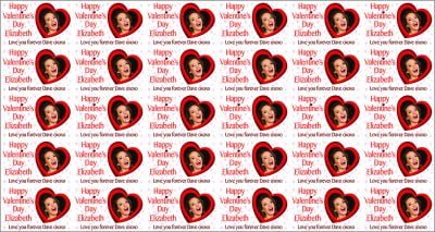 Personalised Valentine's Day with photo Wrapping Paper